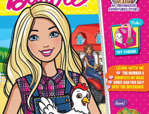 Barbie Magazine Available for Digital Download