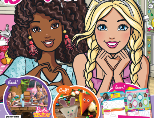 The April Issue of the Barbie Magazine is On Sale Now!